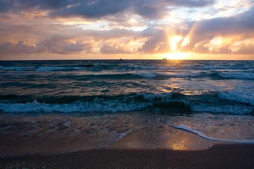 beach sunrise canon eos rebel miami playa amanecer fortlauderdale xsi eticas elmerticas