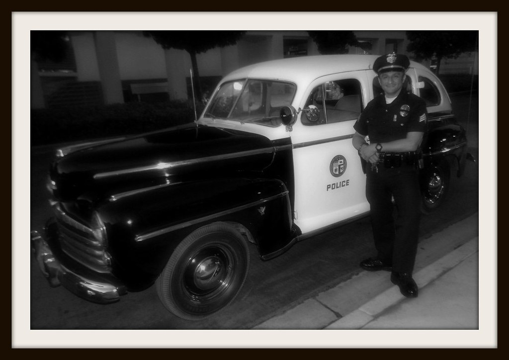 Lapd west valley 1947 ford old school vintage retro style for West valley motor vehicle