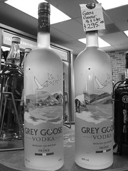 white, vodka, distilled beverage, liqueur, bottle, monochrome photography, glass, drink, wine bottle, monochrome, black-and-white, lighting, alcoholic beverage,
