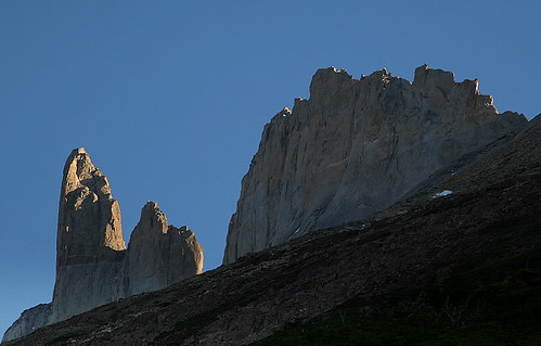 La Espada (The Sword) & La Hoja (The Leaf) - Torres Del Paine National Park - Patagonia - Chile