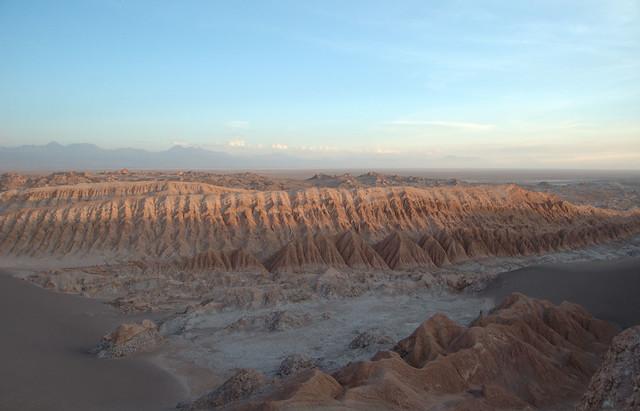 El Valle de la Luna, desierto de Atacama, región de Antofagasta, Chile