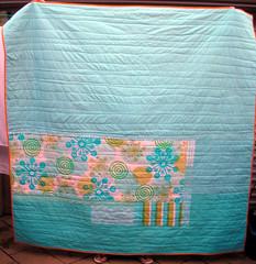 Denyse Schmidt inspired quilt back