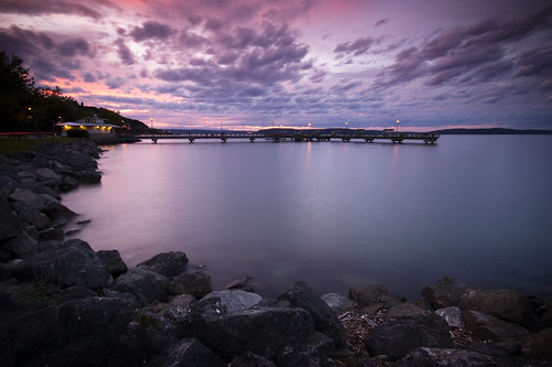 ocean sunset landscape pier washington waterfront pugetsound tacoma 1on1 rustonway commencementbay flickrsbest lesdavis