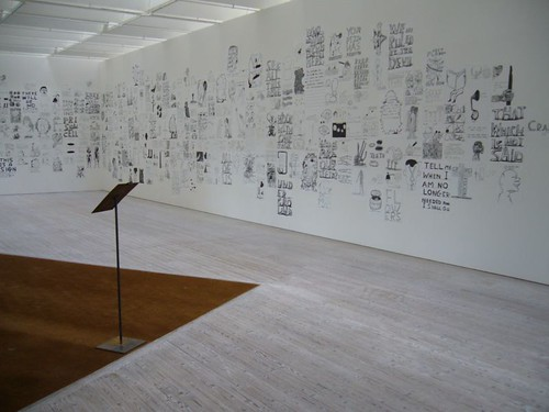 Ink drawings - Exhibition David Shrigley