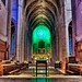 Behind the altar at Grace Cathedral