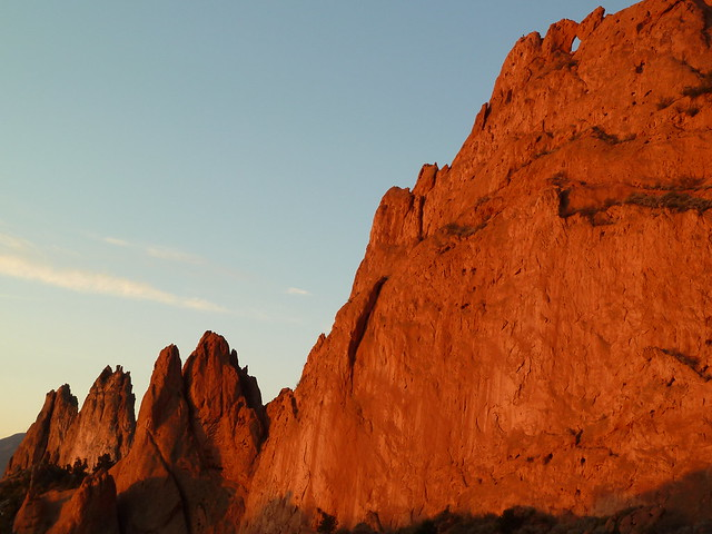 Garden Of The Gods With Kissing Camels In Colorado Springs Co Flickr Photo Sharing