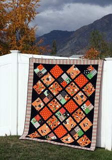 halloween Boo to you! quilt