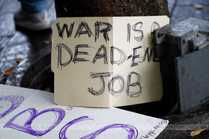 war is a dead end job
