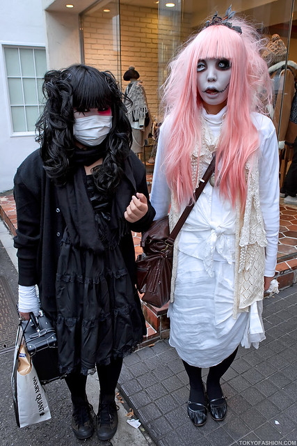Harajuku Gothic Girls Flickr Photo Sharing
