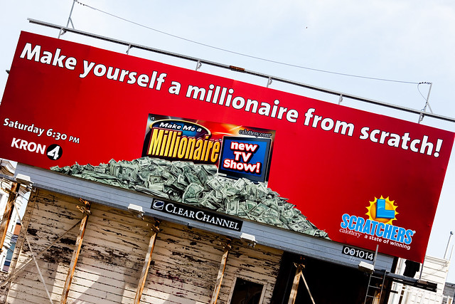 how to become a millionaire from scratch