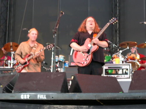 Derek Trucks and Warren Haynes of The Allman Brothers Band