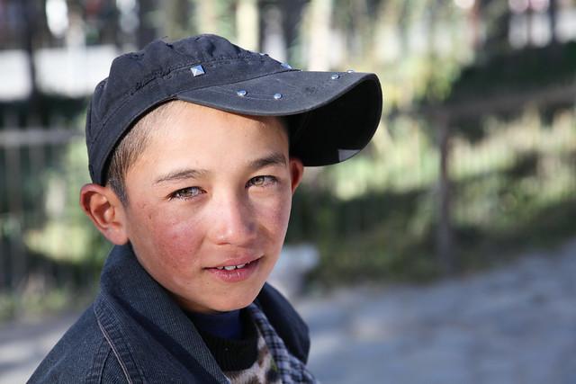 タシュクルガンの少年