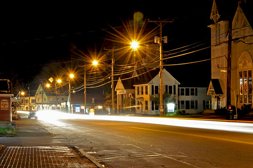 road street longexposure usa black yellow night dark landscape outside town photo interesting nikon flickr traffic image shots outdoor picture newengland newhampshire nh nightshots scenes gundersen goffstown nikoncamera d5000 piscataquogriver nikond5000 bobgundersen robertgundersen