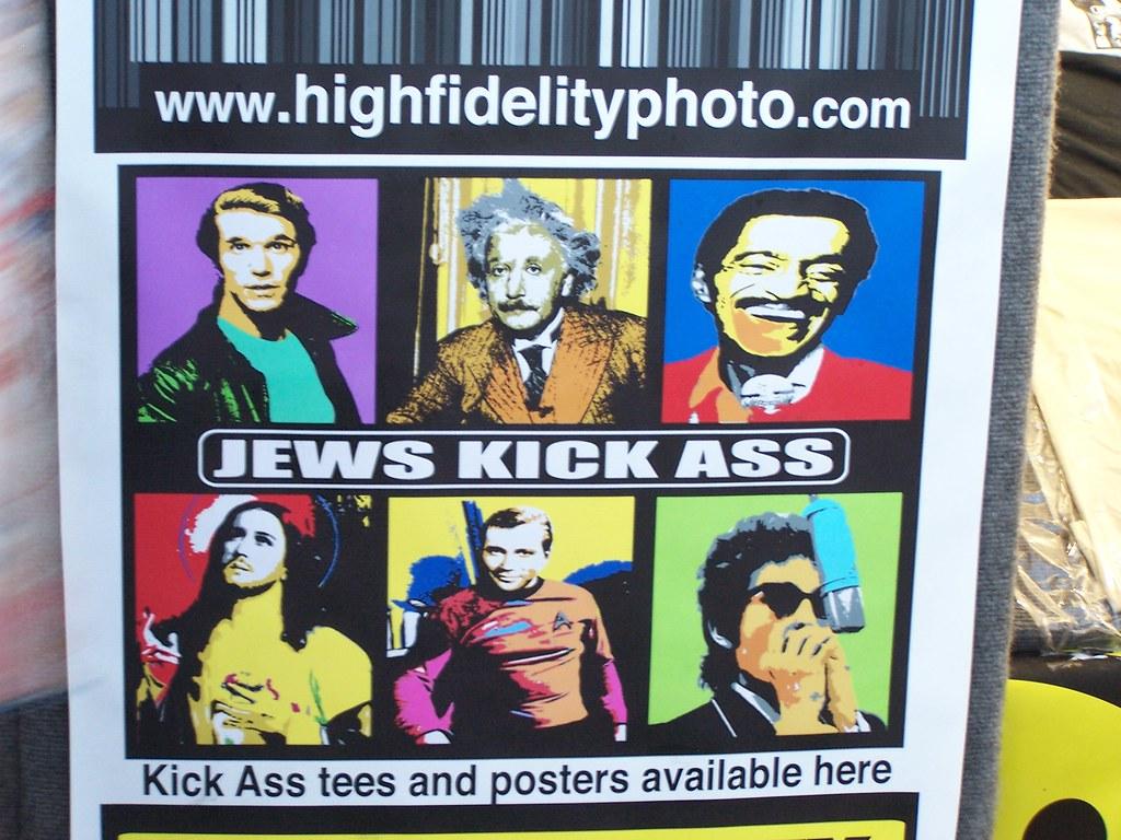 jews kick ass poster