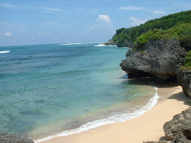 Green Bowl Beach, Bali Indonesia