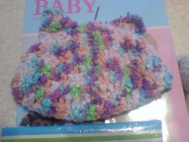 Baby Pixie's Kitten Cap!