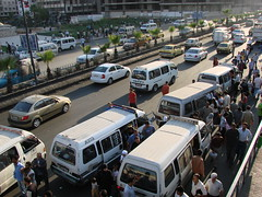 Traffic, Damascus