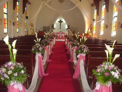 Korean Church Wedding Decoration : By Astrud Weddings And Wedding Packages  At Flowers Etc
