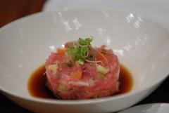 meal(0.0), produce(0.0), smoked salmon(0.0), meat(1.0), steak tartare(1.0), food(1.0), dish(1.0), cuisine(1.0),