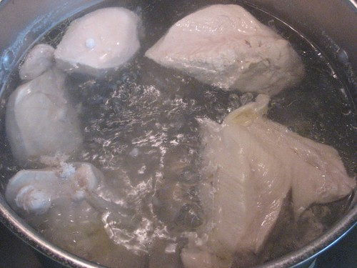 Boiling frozen chicken 28 images in michelle s for How long to boil a whole chicken for soup