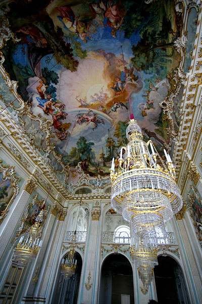 Nymphenburg Palace by CC user daleharvey on Flickr