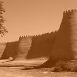 Khiva's Mud Walls - Khiva, Uzbekistan