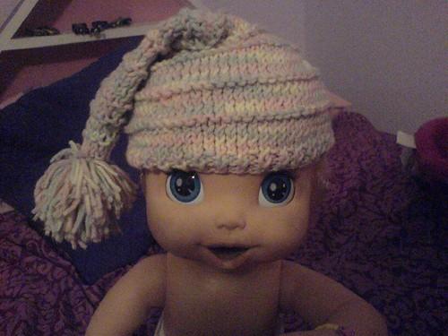 Baby Pixie Stocking Cap