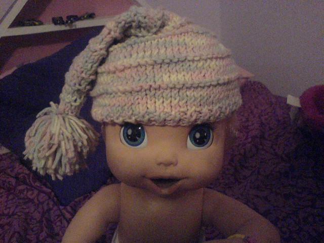 Baby Pixie Stocking Cap