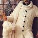 knitting 70s moustache male aran  by Sandra Eterovic