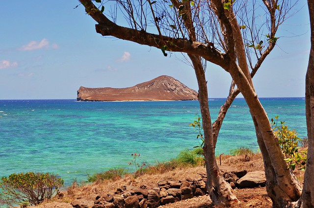 Manana island    Oahu    Hawaii