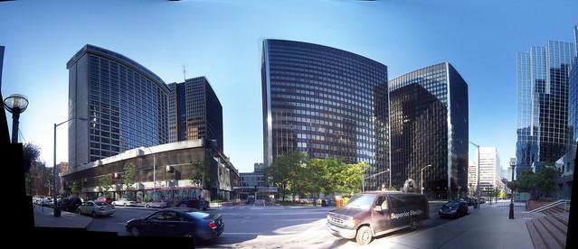Albert Street panorama.