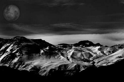 Mountain  Black & White