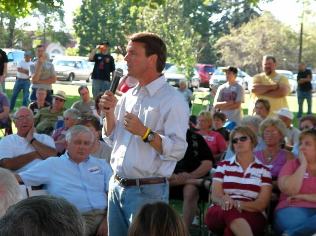 John Edwards speaks in Osceola