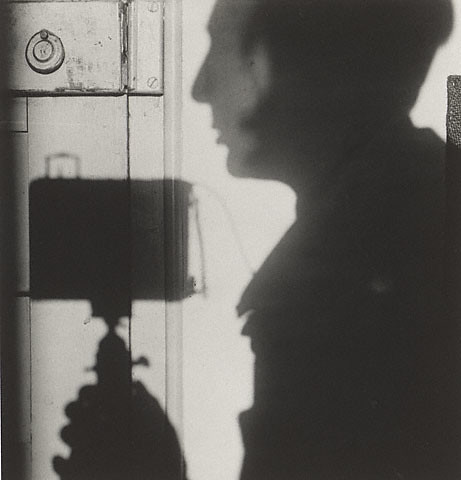 Self-portrait, by Andre Kertesz, 1927
