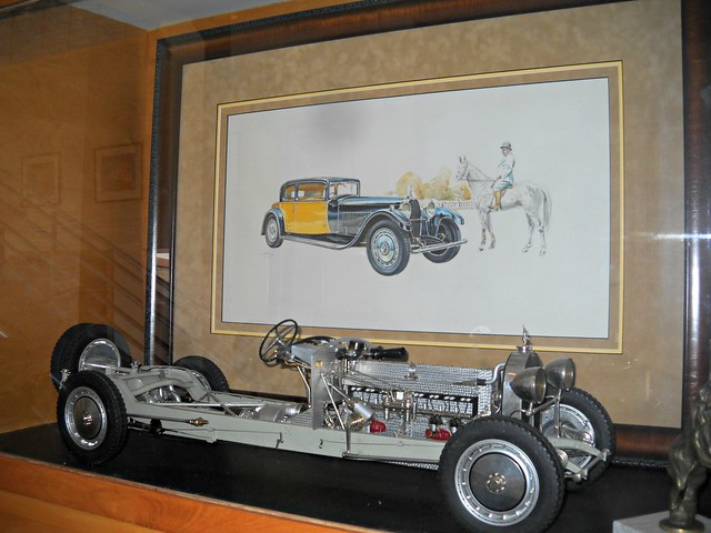 1931 Bugatti Type 41 Royale Chassis (Scale Model) 1