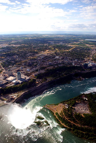 Happy Canada Day From Above Niagara Falls
