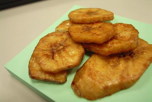黒糖バナナチップス(MUJI)
