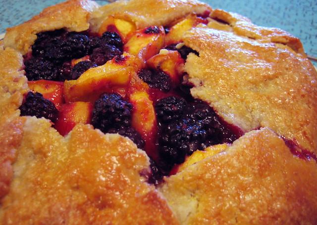 blackberry & peach galette | Flickr - Photo Sharing!
