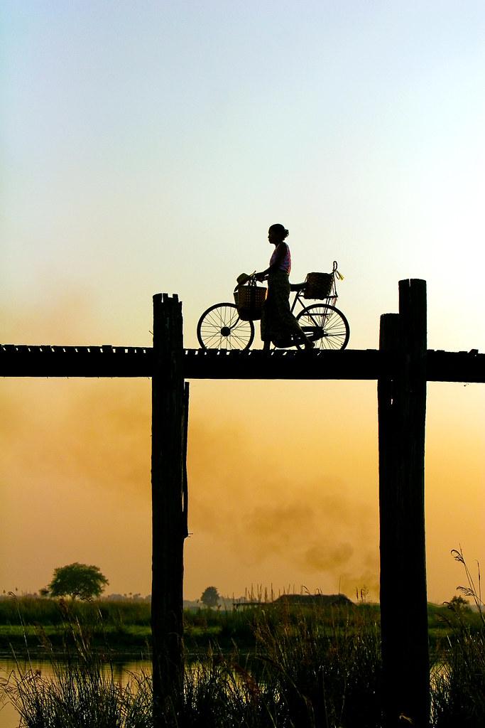 Going Home - Amarapura, Burma