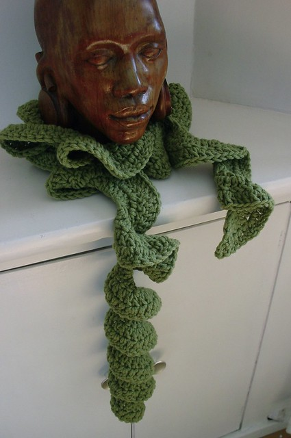 Over 500 Free Crocheted Scarf Patterns at AllCrafts!