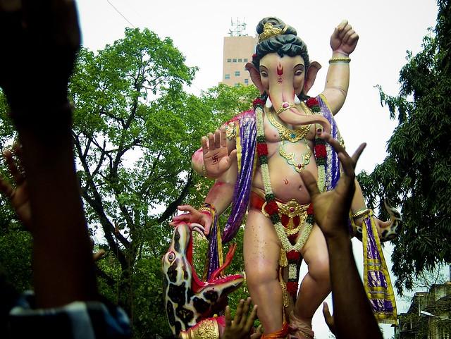 Ganesh Galli Cha Raja Maza Mumbai 2010 Facebook Picture
