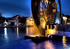 Melaka Malay Sultanate Water Wheel