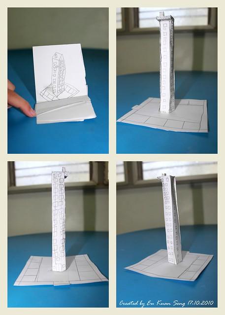 1st 3D paper work!