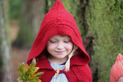 """My girls as Little Red Riding Hood, each with a """"wolf!"""" Handmade costume handed down. 5142343133_eab30a9145_o"""