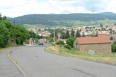 Walking into Langogne