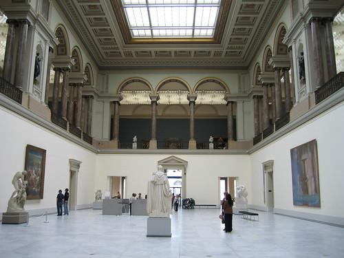 Vestíbulo del Museo de Artes