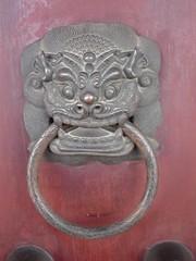 carving, sculpture, metal, door knocker, iron,