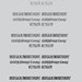 Alt Lautus Typeface Weights
