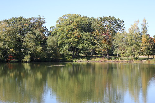 autumn providence rhodeisland rogerwilliamspark edgewoodlake