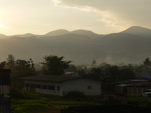 africa morning sunrise smoke east burundi bujumbura